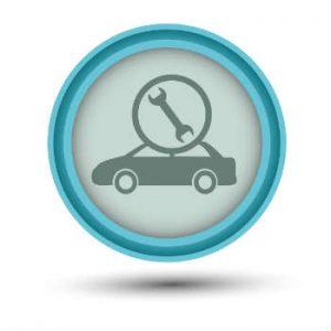 car repair label