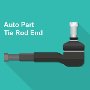 Tie rod vector illustration